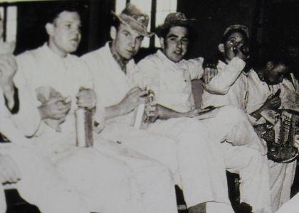Malerfrühstück in den 50er Jahren