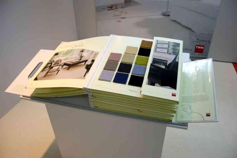 Tapeten- und Fußboden-Kollektion