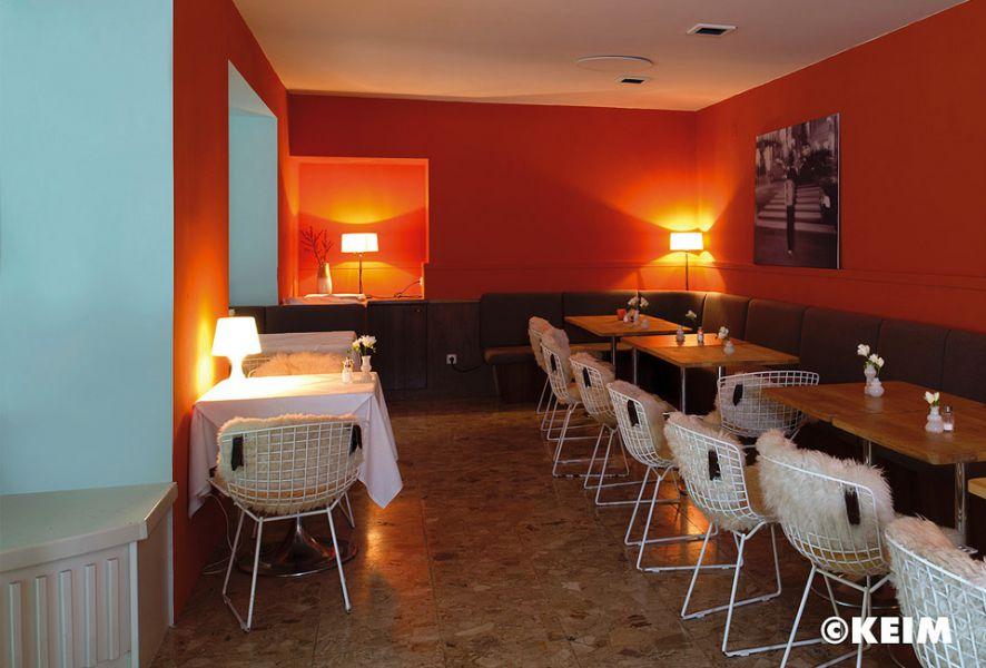 Farbgebung Restaurant – Farben von KEIM Le Corbusier
