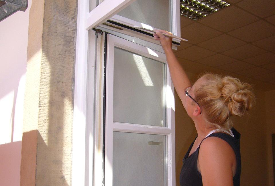 Fensterlackierarbeiten